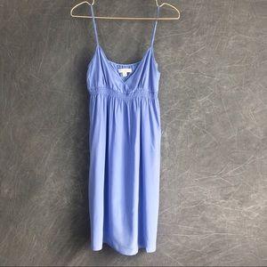 Banana republic Lilac silk slip chemise mini dress